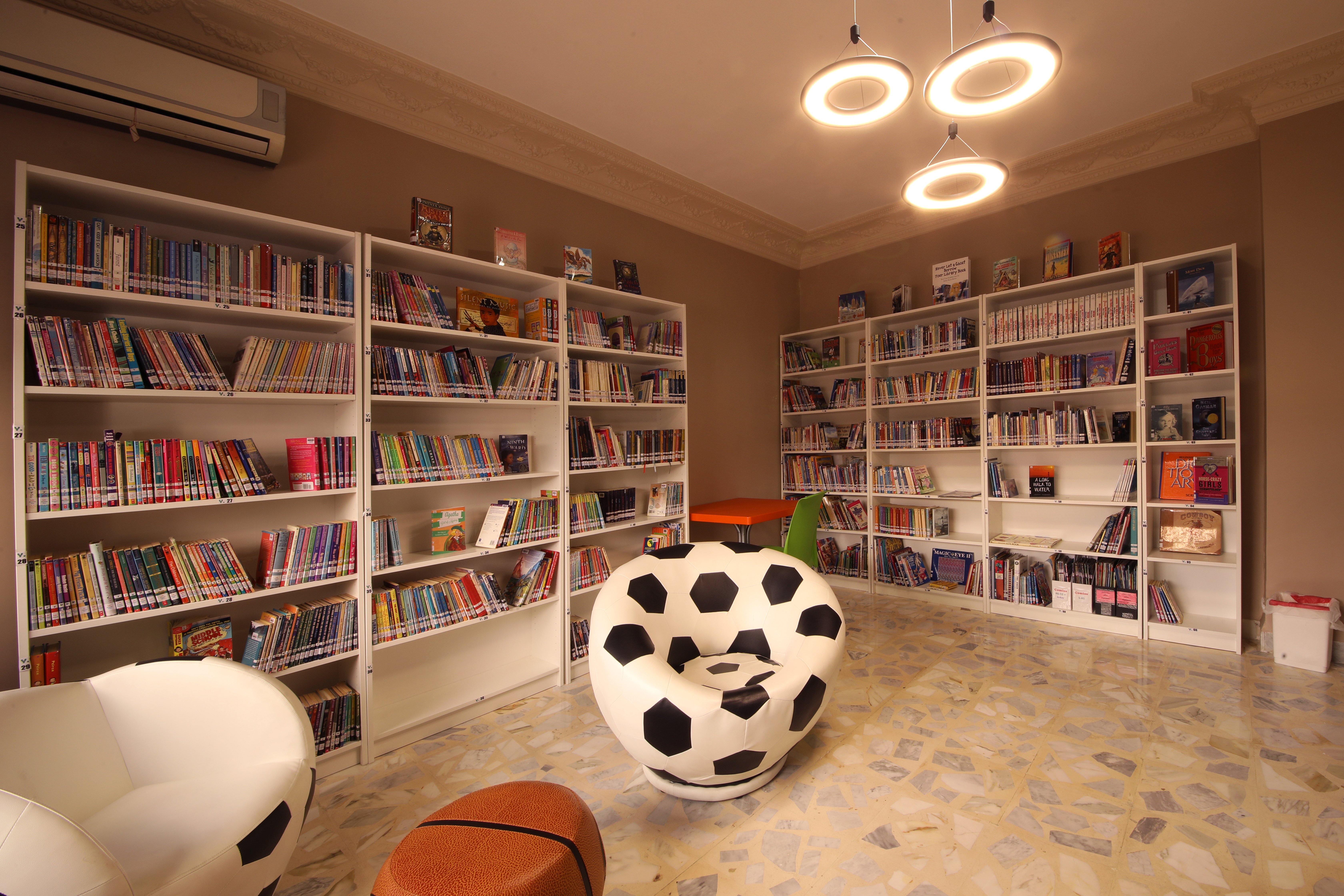 Teen Room Library
